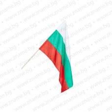 Знаме на България 24/40 см. с дървена пръчка