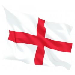 Знаме на Англия двустранна апликация