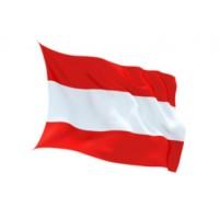 Знаме на Австрия за външни условия