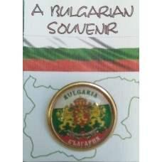Значка с герб на България