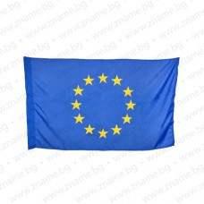 Знаме на ЕС 70/120 см. с двустранно апликирани звезди за външни условия