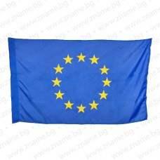 Знаме на ЕС 129/215 см. с двустранно апликирани звезди