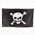 Пиратско знаме с череп и кости