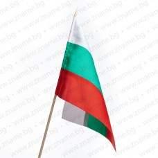Знаме на България 16/22 см. с дървена клечка