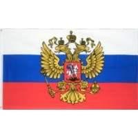 Знаме на Русия с герб