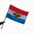 Самарско знаме 30/50 см. с дървена дръжка