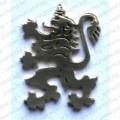 Значка с лъв от инокс