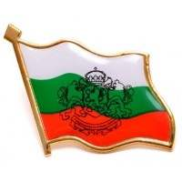 Значка българско знаме с герб
