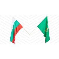 Знамена на България и Свобода или смърт 30/50 см.