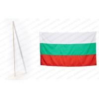 Знаме на България 70/120 см. и дървен кол