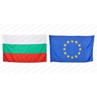 Знамена на България и ЕС 70/120 за външни условия